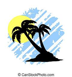 Beach illustration