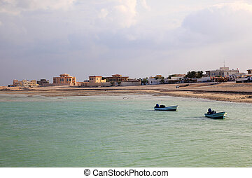 Beach in Al Khor. Qatar, Middle East