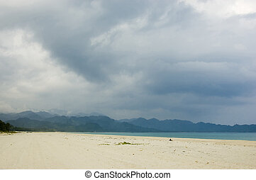 Beach in Aurora Province, Philippines
