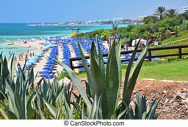 Beach in Ayia Napa, Cyprus