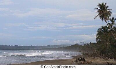 Beach in Cahuita National Park, Costa Rica