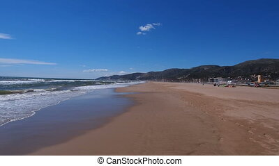 Beach in Castelldefels