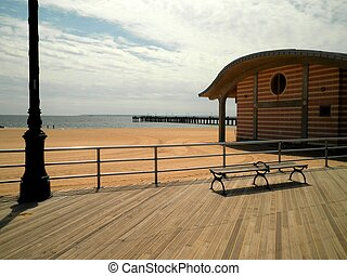 Beach in Coney Island