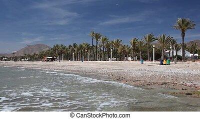 Beach in La Azohia, Spain