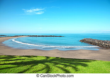Beach in Playa de las Americas, Tenerife