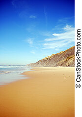 beach in Portugal (Algarve)