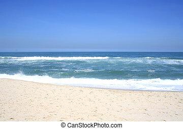 Beach in Rio de Janeiro - A beach in Recreio, Rio de...