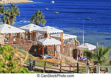 Beach in Sharm El Sheikh