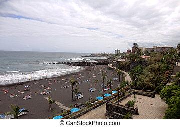 Beach in Tenerife, Canary Islands,