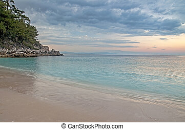 Beach in Thasos, Greece