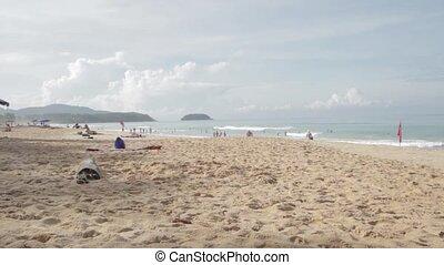 Beach landscape in Phuket