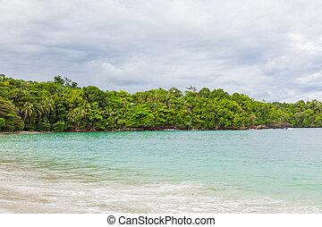 Sand beach at Manuel Antonio Costa Rica