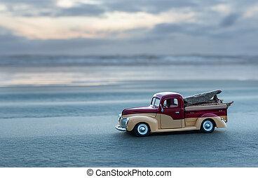 Beach Model Truck