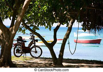 Beach Motorbike