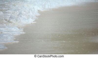 Beach. - Ocean sandy beach.