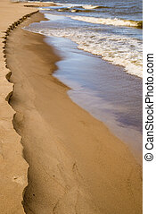 beach of Baltic Sea, Poland