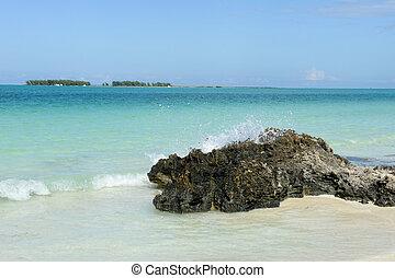 Beach of Cayo Guillermo, Cuba
