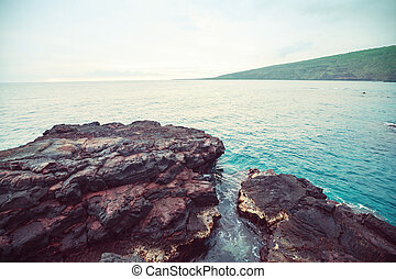 Beach on Big Island, Hawaii