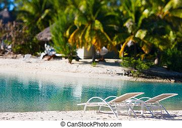Beach on Bora Bora