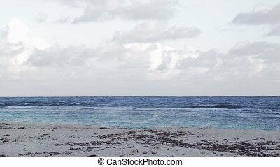 Beach on mauritius