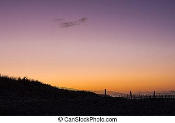 Beach on the Baltic Sea coast in Warnemuende, Germany