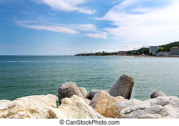 Beach on the Black Sea