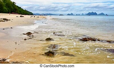 Beach on the Coral island - Thailan