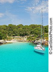 mallorca - beach on the island mallorca spain europe