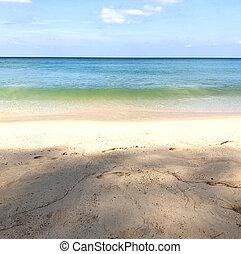 beach on the island of Phuket in Thailand