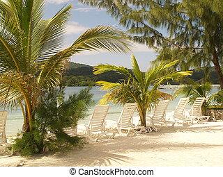 Beach paradise carribean