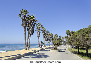 Beach Promenade, Ventura, CA - Promenade at Public city...
