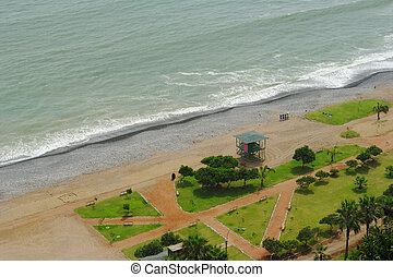 Beach Resort in Miraflores, Lima, Peru
