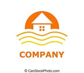 beach resort logo 4