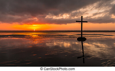 Beach Salvation Cross