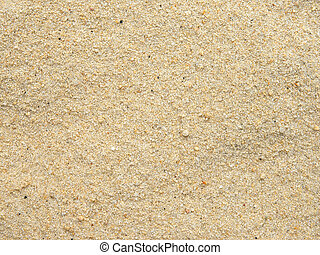 Close up view of beach sand grain