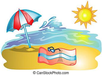 beach scene illustrations and clipart 6 977 beach scene royalty rh canstockphoto co uk beach scene black and white clipart beach scene clipart free downloads