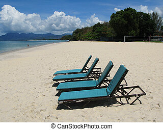 Beach scene. Langkawi island, Malayisa
