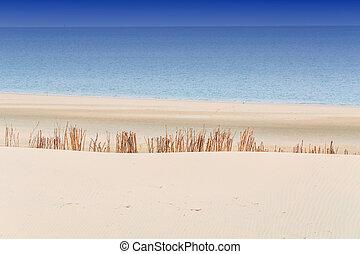 Beach, Sea and Sky - Beach impressions interplay of beach,...