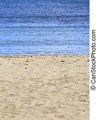 Beach & Sea - Sand beach detail, typical of Mediterranean...