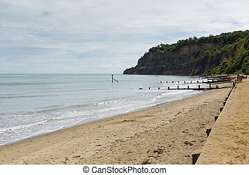 Beach Shanklin Isle of Wight uk