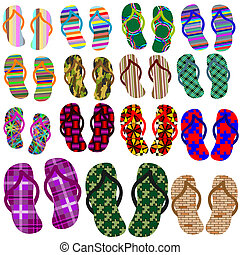 beach shoes collection