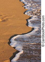 Beach Shoreline Wash
