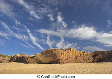 Beach sky landscape
