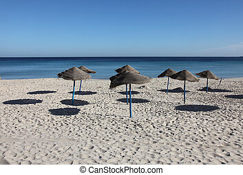 Beach, Sousse, Tunisia - Beach on a sunny day, Sousse,...
