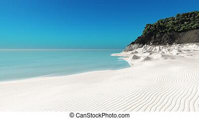 Beach - The horizon and the beach