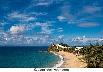 Beach - Antigua & barbuda winter 2009
