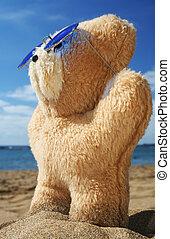 Beach Teddy