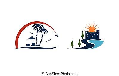 Beach Travel Holiday Set