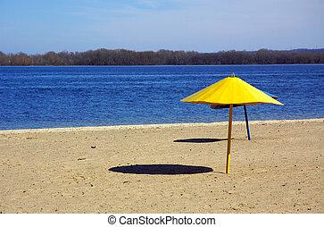 Beach umbrellas - Two Beach umbrellas