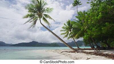 Beach Vacation Travel Holidays in French Polynesia - Paradise beach on Bora Bora